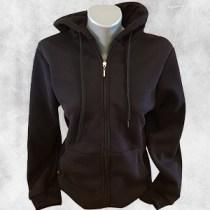 zenska duks jakna crna 1