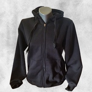 zenska duks jakna crna