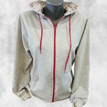 zenska duks jakna krem ciklama