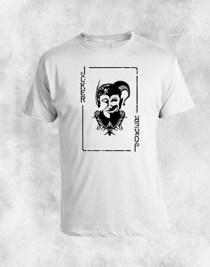 joker bela majica