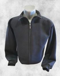 crna duks jakna sa kragnom