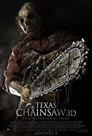 Texas Chainsaw remake 2013 horror movie poster