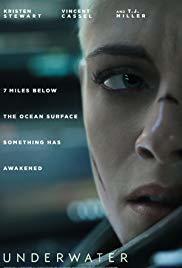 Underwater horror movie poster 2020