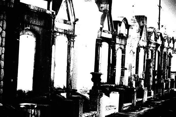 Lafayette Cemetery 2 Puzzle Box Horror images row of tombs