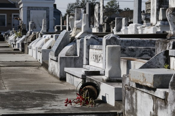 Lafayette Cemetery 2 Puzzle Box Horror images graves and flowers