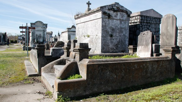 Lafayette Cemetery 2 Puzzle Box Horror images graves and tombs