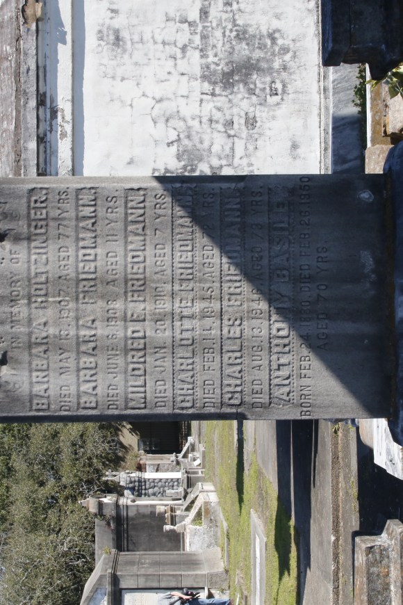 Lafayette Cemetery 2 Puzzle Box Horror images large headstone and shadows