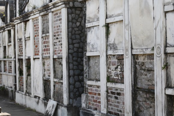 Lafayette Cemetery 2 Puzzle Box Horror images tombs with brick