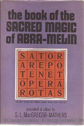 Cover of The Book of the Sacred Mage of Abra-Melin