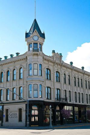 Geiser Grand Hotel, Baker City, Oregon