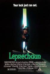 Leprechaun horror movie poster
