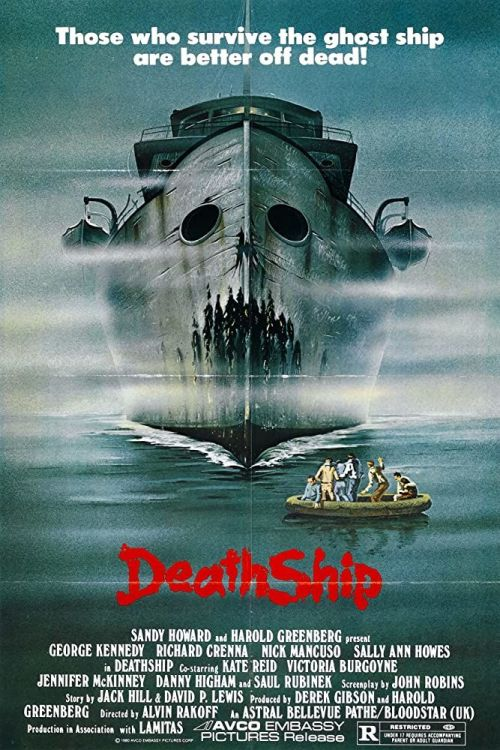 Death Ship Horror Movie Poster