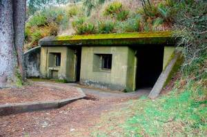 Battery Russel, Fort Stevens in Astoria, Oregon