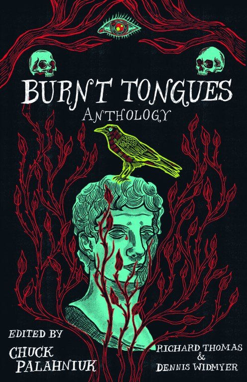 burnt tongues book cover