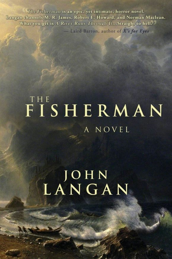 The Fisherman book cover (2016)