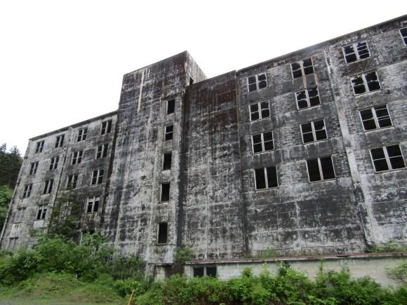 The Buckner Building in Whittier, AK