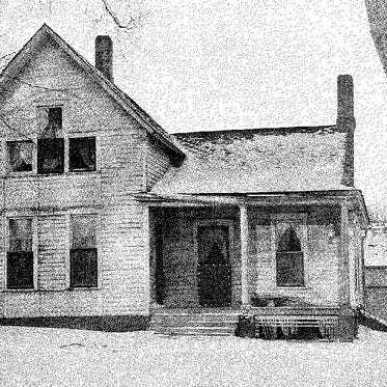 Villisca Ax Murder House early 1900's photo