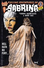 Chilling Adventures of Sabrina Horror Comic Cover
