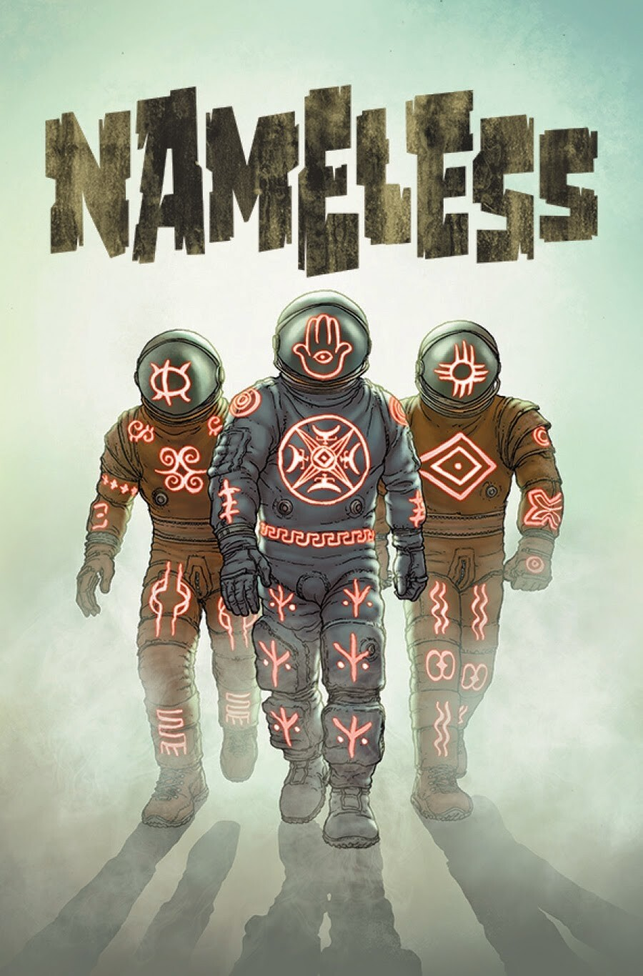 Nameless Cosmic horror comic cover