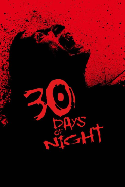 30 days of night winter horror movie poster