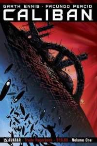 Caliban horror comic cover