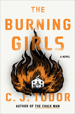 The Burning Girls horror book Cover