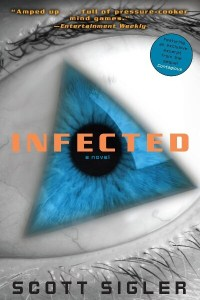 Infected horror book cover