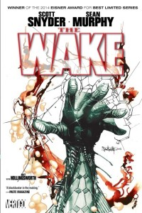 The Wake horror comic cover