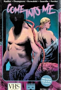 Come into me horror comic cover