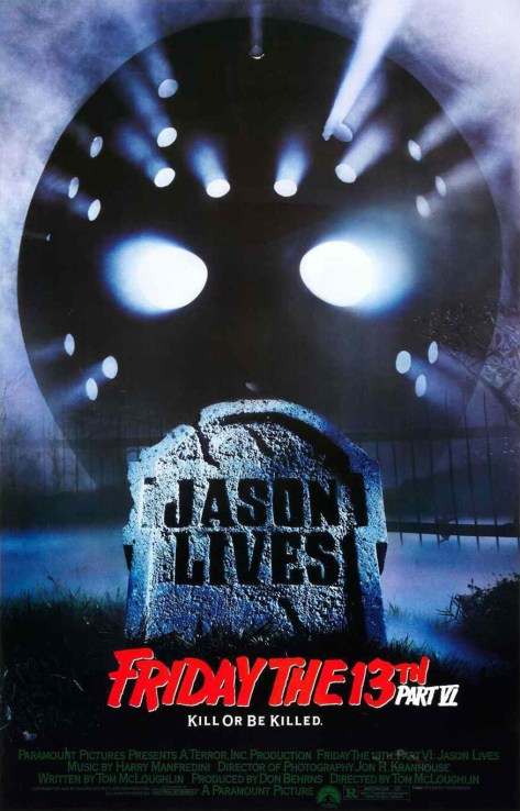 Friday the 13th part vii movie poster