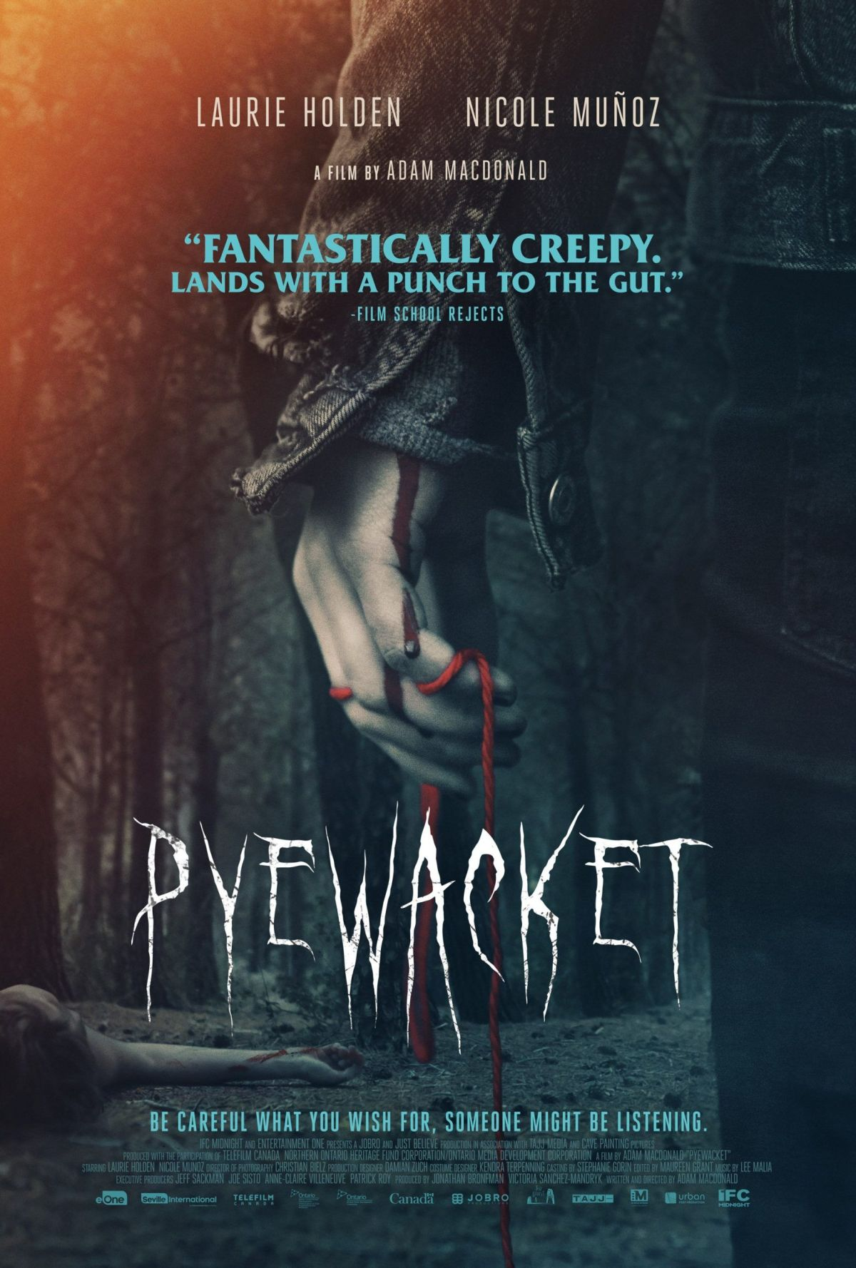 Pyewacket Supernatural horror movie streaming on Hulu