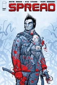 Spread horror comic cover