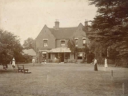 Borely Rectory Image from 1800's