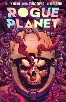 Rogue planet horror comic cover