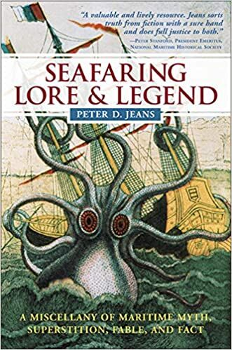 Seafaring Lore and Legends books including the ghost ship Jenny