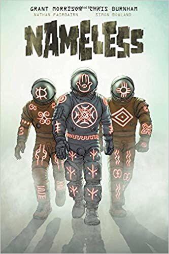Nameless horror comic book cover