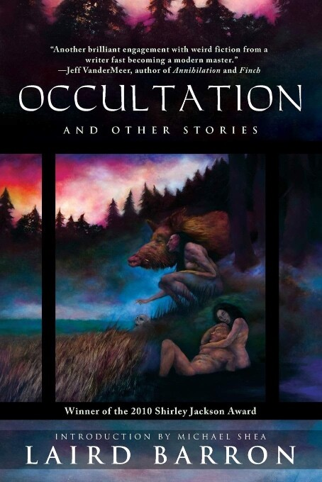 Occultation by Laird Barron book cover