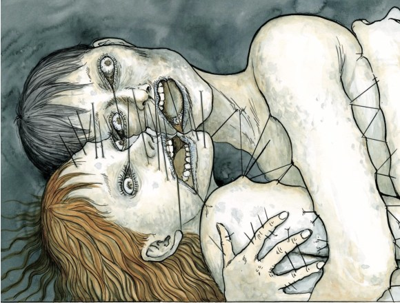 Billions Alone horror comic art