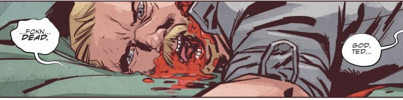 Stillwater vol. 1 comic horror art