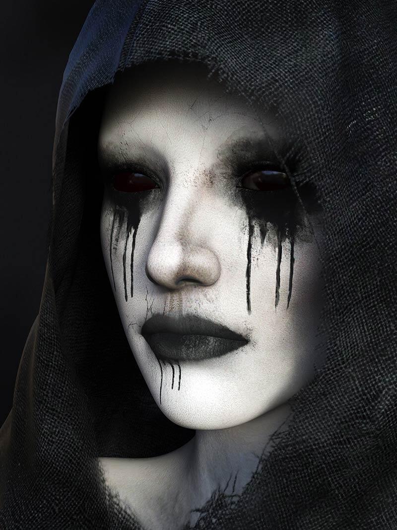 La Mala Hora lady in black