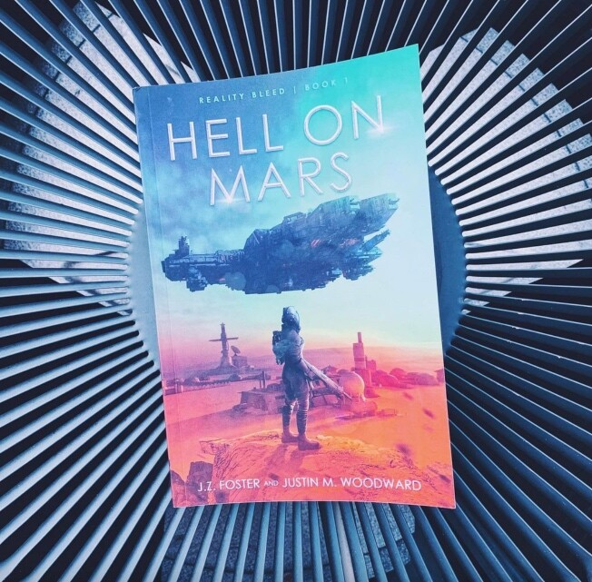 Hell on Mars book cover