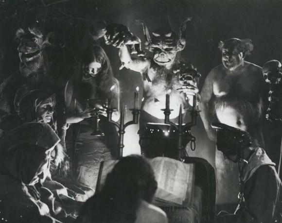 Scene from Haxan movie