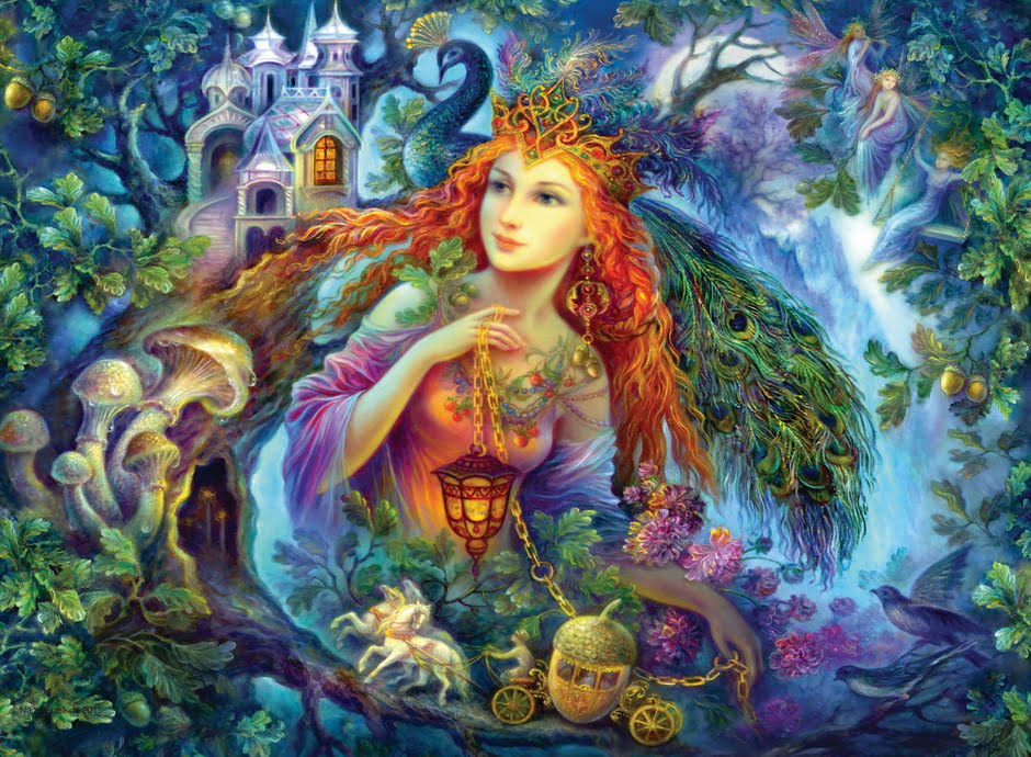 Jigsaw Puzzle Fairy Of The Forest 500 PC By Ravensburger