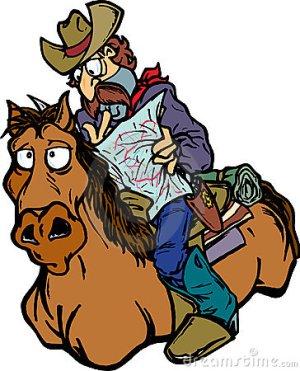 cowboy arrives on sunday puzzle