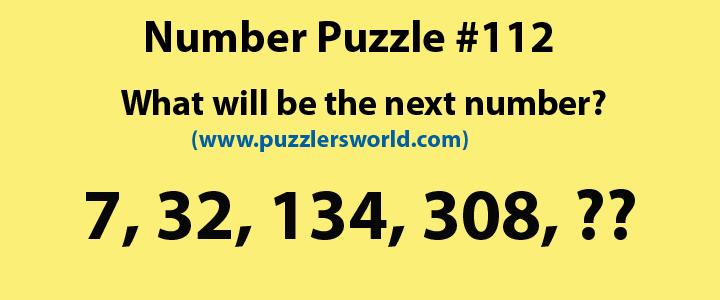 7, 32, 134, 308,?