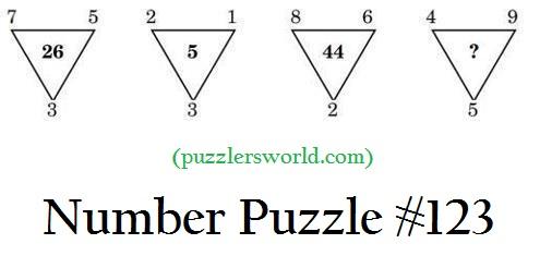 number puzzle 123