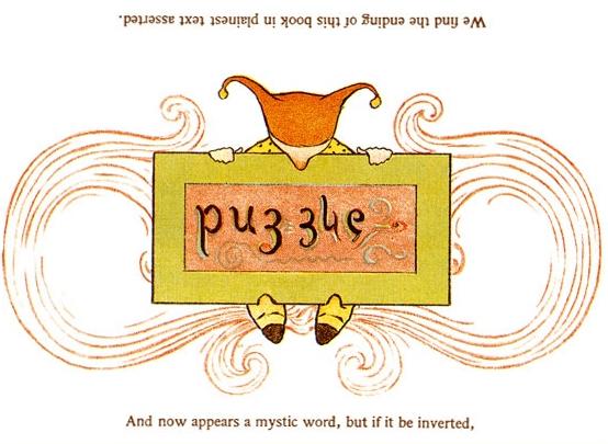 Puzzle Ambigram