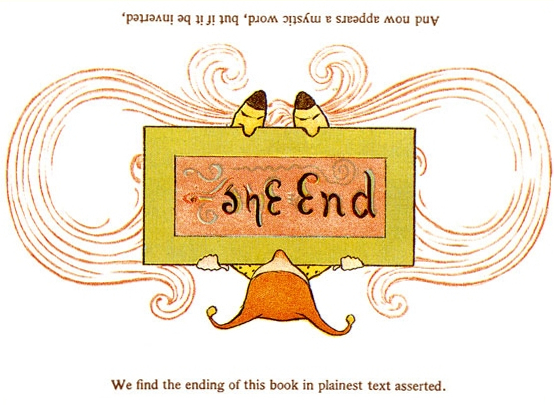 The End Ambigram