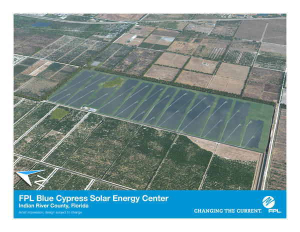 Blue Cypress Solar Energy Center
