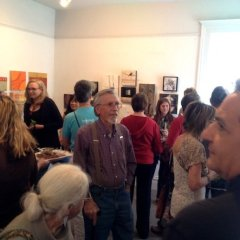 Wax Encaustic Works Reception